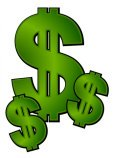 image of 3 dollar signs