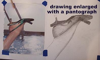 pantograph drawing