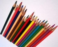 colored art pencils
